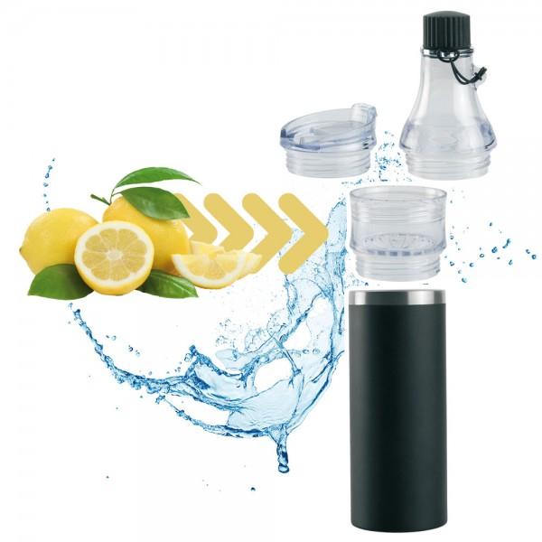DOMINIKA Infuser-Trinkflasche 0,4 l
