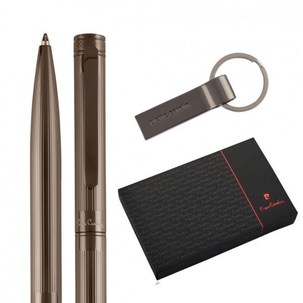 GISELE Set aus USB 16GB und Kugelschreiber, gunmetal